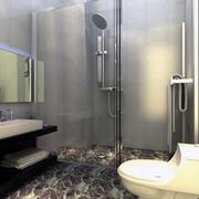 现代卫生间背景墙图