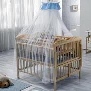 原木婴儿床装饰效果图