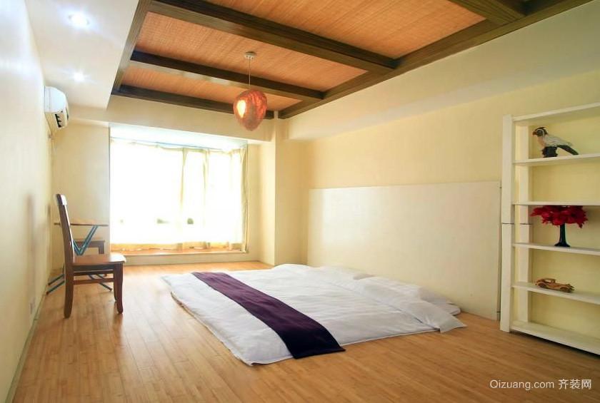 复式楼时尚风格榻榻米床装修效果图