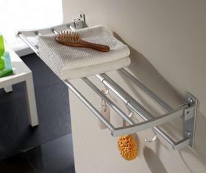 各式各样简约大方浴室置物架装修效果图