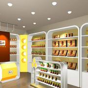 现代化的干果店