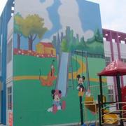 幼儿园设计外景图