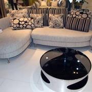 单身公寓现代简约风格客厅沙发装修效果图