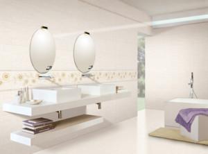现代唯美的时尚小浴室装修效果图