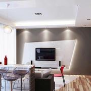 二居室创意系列吧台设计装修效果图