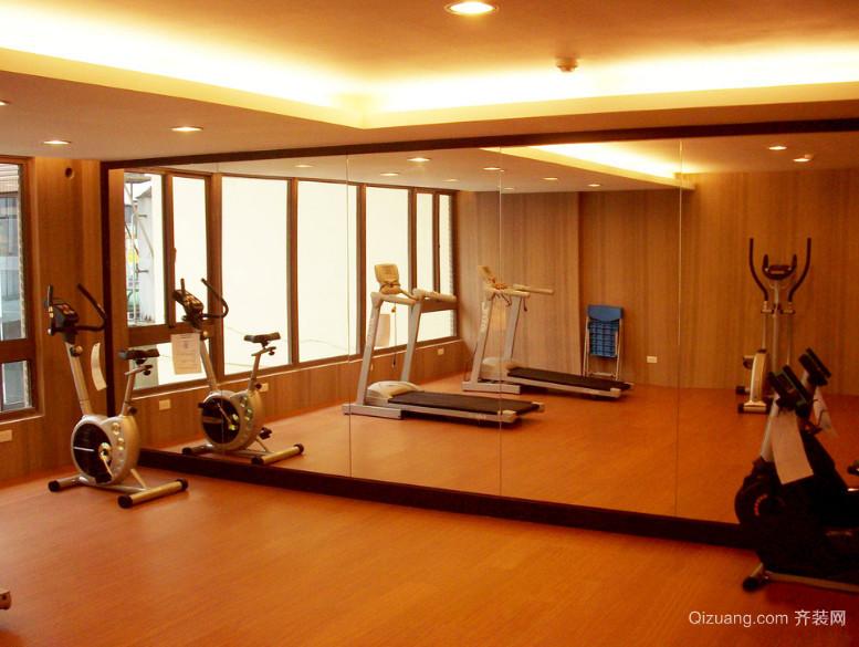 独特唯美的都市健身房装修效果图