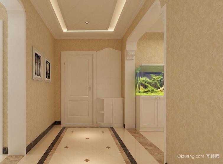 精美的欧式大户型进门玄关装修效果图