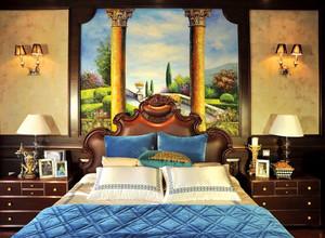 欧式古典风格大户型别墅装修效果图