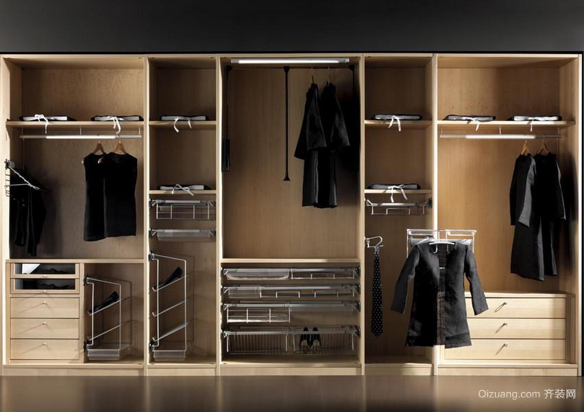 现代欧式大户型整体衣柜装修效果图