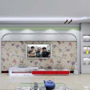 大户型欧式客厅电视墙装修设计效果图