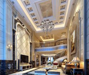 古典豪华大别墅