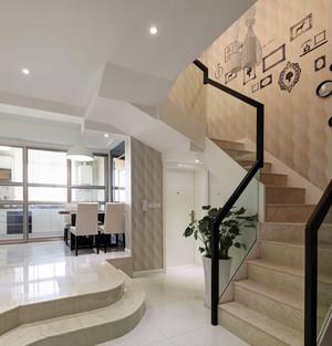 110平米新古典风格楼梯装修效果图