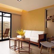 日式小户型家居客厅