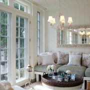 大户型北欧风格一层别墅客厅设计效果图