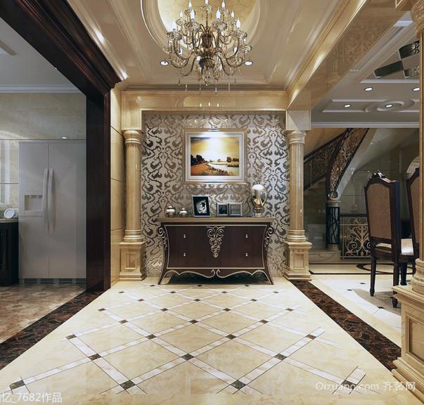 唯美的欧式私人别墅设计装修效果图