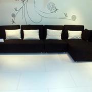 120平米现代简约风格客厅沙发装修图