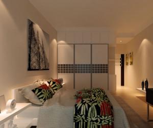 精致的大户型卧室背景墙装修效果图