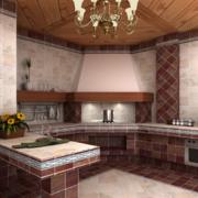 精致的小户型欧式小厨房装修效果图