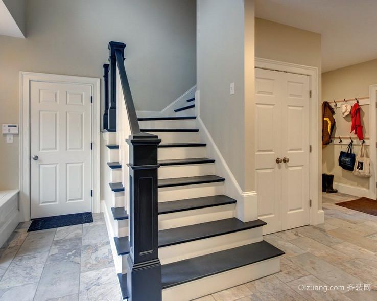 二居室都市风格楼梯装修效果图