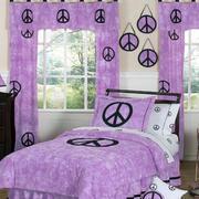 大户型混搭浅紫色房间装修设计效果图