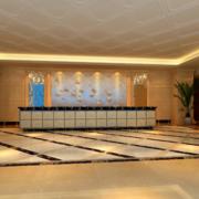 精美的现代都市宾馆大厅装修效果图