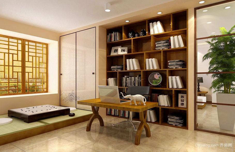 日式风格120平米家居装修效果图