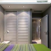 90平米家居卧室组合衣柜装修效果图