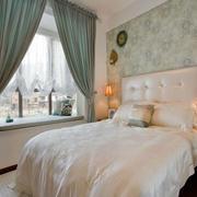 60平米小户型美式简约风格卧室装修效果图