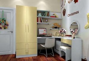 都市前卫儿童房组合衣柜装修效果图