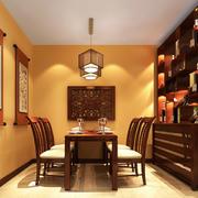 暖色调新房效果图片
