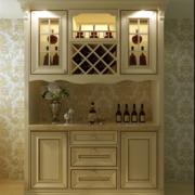 精致的欧式大户型家装酒柜装修效果图
