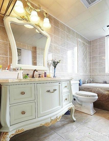 精美的欧式大户型卫生间装修效果图