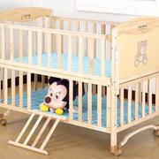 简约上下层婴儿床效果图