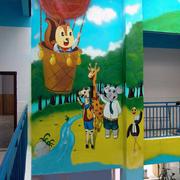 幼儿园设计墙纸图