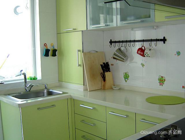 20平米小户型韩式简约风格厨房装修效果图