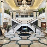 清新风格酒店效果图片