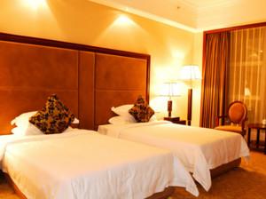 精致的都市现代宾馆房间装修效果图