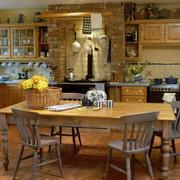 复古别墅田园厨房欣赏