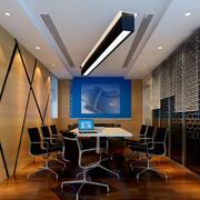 精致前卫大企业会议室背景墙装修效果图