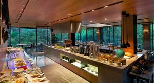 市中心饭店厨房设计装修效果图
