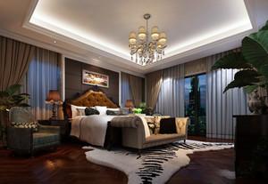新古典复式楼大卧室装修效果图