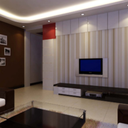 大户型欧式客厅电视背景墙装修效果图