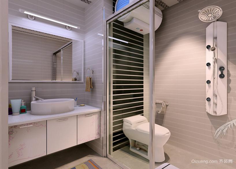 大户型欧式卫生间设计装修效果图鉴赏