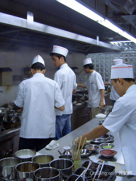 现代风格饭店厨房设计装修效果图