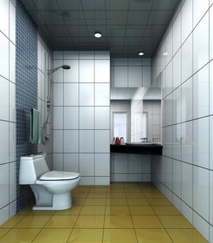 跃层宜家风格洗手间装修效果图