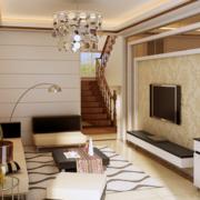 精致大户型简欧风格客厅装修效果图