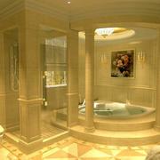 118平米都市风格洗手间装修效果图
