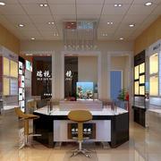 50平米小型简约眼镜店装修效果图
