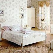 韩式90后女生单身公寓卧室装修效果图