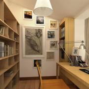 精致的大户型现代书房装修效果图鉴赏